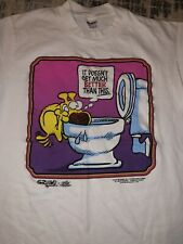 Vintage 80s Mother Goose And Grimm Grimmy Single Stitch T-Shirt Medium 1988