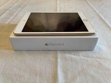 Apple iPad mini 3 64GB, Wi-Fi + Cellular (Unlocked), 7.9in - Gold (CA)