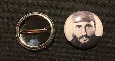 "Fidel Castro 1"" Button Pin - Cuban Communist Party - Buy 2 Get 1 Free"