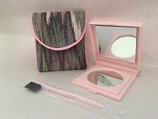 Rare LOT Mary Kay~Compact Mirror W/case & Brush New