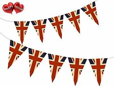Vintage Union Jack Theme Bunting Banner Stylish party decoration by PARTY DECOR