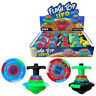Kids U.F.O. Spinning Tops Toy Spinner Multi-Color LED Flash Light Gyro Music NEW