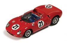 IXO LM1963 FERRARI 250P diecast model car Scarfiotti/Bandini LeMans win 63 1:43