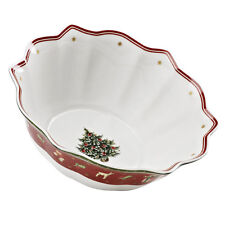 Villeroy & and Boch Christmas TOY'S DELIGHT large individual bowl 19cm NEW