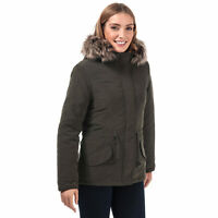 Womens Only Lucca Parka Jacket In Peat