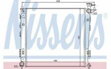 NISSENS Radiateur moteur pour KIA SPORTAGE 67517 - Pièces Auto Mister Auto