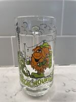 Rare Vintage Six Flags Magic Mountain Clear Glass Mug - Excellent Condition!