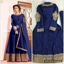 Anarkali Salwar Kameez Bollywood  Indian Pakistani Designer Ethnic Dress Suit