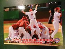 2008 Phillies Upper Deck World Series Champions MLB - You Pick Player