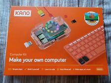 Kano Computer Kit Orange Make Your Own Computer 1000K-01 Raspberry Pi 3 Model B