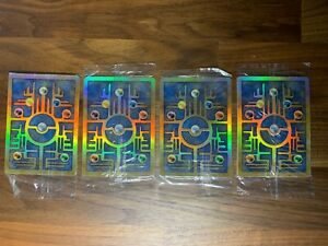 Lot Of 4 Pokemon Ancient Mew Sealed!  Mint.  2000 Movie Holo Card