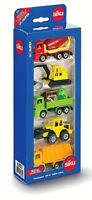 SIKU 6283 Gift Set No.4 Construction Vehicles - Five Vehicles - BNIB