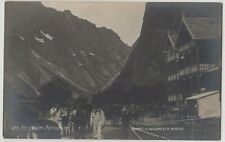 Bergen Steamship View of Horgheim Romsdalen Norway Real Photo Postcard c.1918