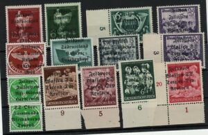 GERMANY 1940s TOBRUK & MORE OVPT STAMPS -CAG 040421