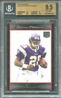 2007 bowman #126 ADRIAN PETERSON vikings rookie card BGS 9.5 (10 9 9.5 9.5)