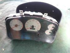 Mitsubishi Lancer instrument speedo & odometer repair due to wrong spark plugs