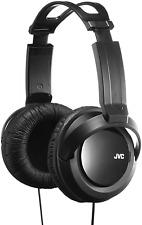 JVC HA-RX330-E/Hi-Fi Casque (Circumaural, Bandeau, Avec fil, 2,5 m, Noir)