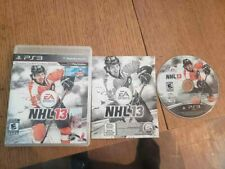NHL 13 (Sony PlayStation 3, 2012) Complete CIB PS3