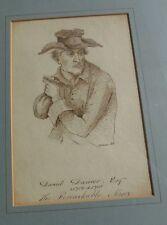 J H PARKER THE REMARKABLE MISER PICTURE ART DANIEL DANCER GALLERY 1847 FRAMED AN