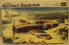 Revell 1/32 Republic P-47D Thunderbolt RAF WWII From 1971 Kit #H-151Very Nice