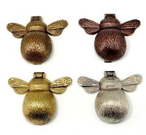 Solid Brass Bumble Bee Door Knocker Antique Vintage Country Style Door Knockers