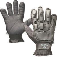 Valken V-Tac Full Finger Hard Back Paintball / Airsoft Gloves Black Large New
