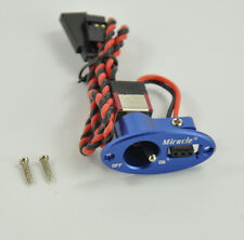 Miracle Rc Oval Heavy Duty Single Switch Aluminum Blue For RC Airplane Blue ZY01