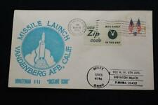 SPACE COVER 1975 MACHINE CANCEL USAF MINUTEMAN 3 INSTANT ICBM LAUNCH (5843)