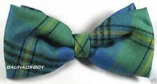 Noeud papillon antique Johnston kilt tartan laine peignée made in Scotland highlandwear