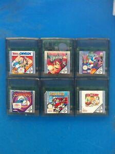 Jeux de Game Boy Color