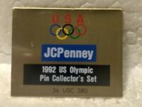 """JcPenney 1992 US Olympic Pin Collector's Set"" Collectible Pin pin3590"