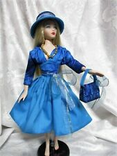 Blue Flash a Doll Hat, Purse and Dress for Gene Marshall doll body