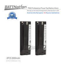 2x 3000MAH 3.0AH Ni-Mh 7.2V Stick Battery for MAKITA 7002 7033 632003-2 632002-4