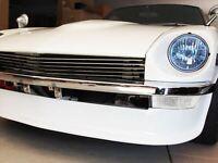 S30Z COLIN Front Lamp Bulb Harness FairLady Z Replica Clear Datsun 240Z Old car