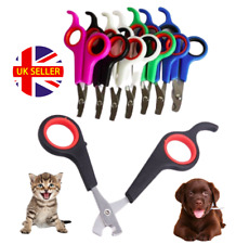 Stainless Steel Curved Cat Grooming Nail Scissors - Dog Pet Rabbit Claw Clippers