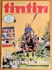 BD Comics Magazine Hebdo Journal Tintin No 14 38e 1983 Lester Cockney Rocky III