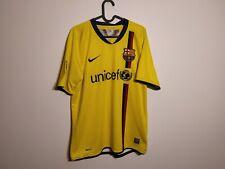 FC Barcelona 2008 away Maglia  Home M SHIRT MAILLOT TRIKOT Camiseta Rare