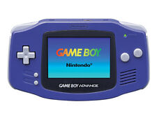 Nintendo Gameboy Advance Console REFURBISHED LIKE NEW Purple + Warranty!!!