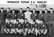 IPSWICH TOWN FOOTBALL TEAM PHOTO>1966-67 SEASON