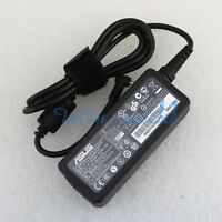 Genuine AC CHARGER ADAPTER ASUS EEE PC 1005HAB 1101HA LAPTOP Power Supply Cord