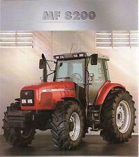 Cd massey ferguson tractor manuals publications ebay mf massey ferguson 8200 series workshop manuals in cd fandeluxe Gallery