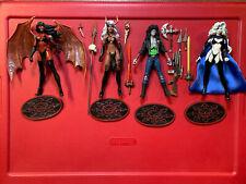 Moore Chaos Comics Figure Lot - Lady Death + Purgatori + Evil Ernie + Lady Demon