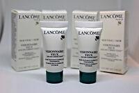 Lot of 4 Lancome visionnaire yeux eye correction cream balm 4 x 5ml/0.16oz NEW