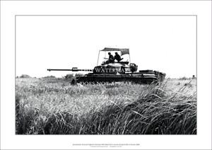 "Australian Centurion Tank A1 Print – Vietnam 1968 – Poster 84 x 59 cm 33"" x 23"""