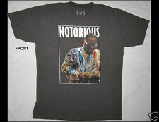 Notorious Big Size Large Dark Gray T-Shirt