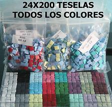 24x200 TOTAL 4800 teselas, tiles para hacer mosaicos y manualidades
