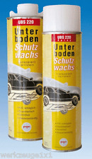 1 xUBS 220 Unterbodenschutzwachs 500 ml Spraydose transparent Steinschlag-Schutz