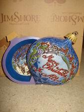 Jim Shore Christmas Ball ornament with Diorama 4017615