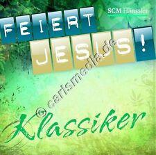 CD: FEIERT JESUS! KLASSIKER - Lobpreis-Klassiker (Grün) *NEU*