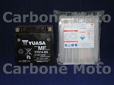 BATTERIA YUASA YTX14-BS PIAGGIO VESPA GTS 300 SUPER '08>'09